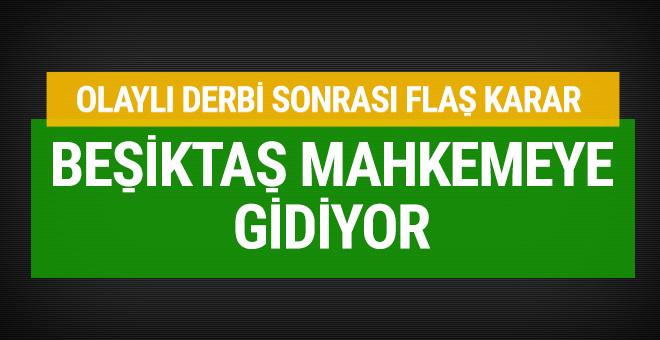 Beşiktaş Mahmut Uslu'yu mahkemeye veriyor