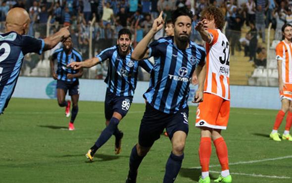 Derbinin kazananı Adana Demirspor oldu