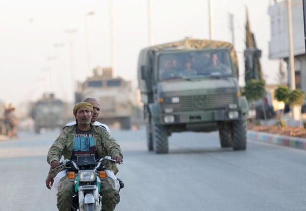 Reuters haber ajansı duyurdu! Türk ordusu ilerliyor