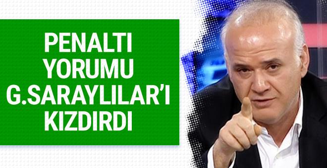 Ahmet Çakar'dan Galatasaray maçında hakem isyanı