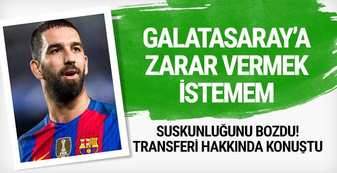 Arda Turan suskunlığunu bozdu! Galatasaray...