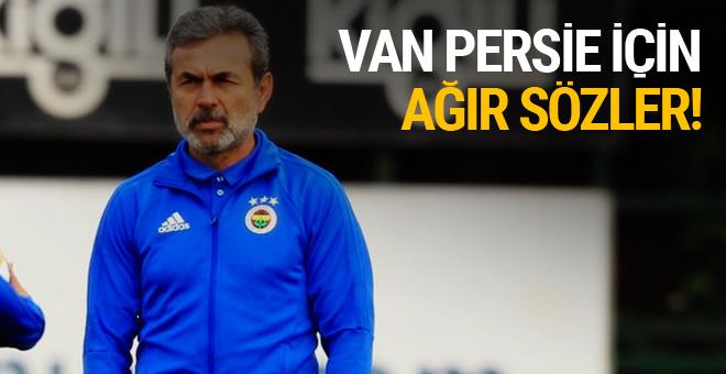 Aykut Kocaman'dan Van Persie için olay sözler