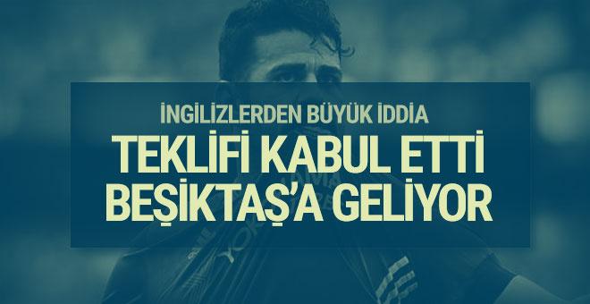 Beşiktaş'ta Diego Costa iddiası!