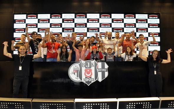 Beşiktaş'ın Şeref Turu gezisi başladı