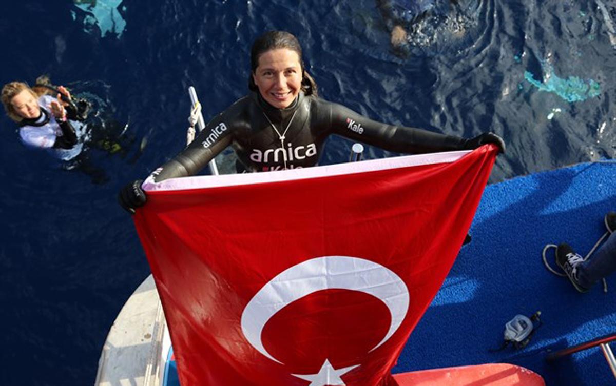 Derya Can'dan yeni Türkiye rekoru