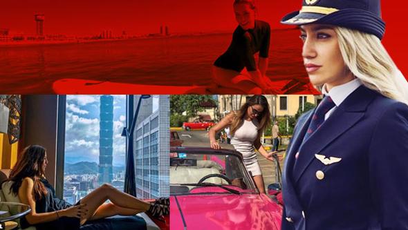Sosyal medyayı sallayan Türk kadın pilotlar
