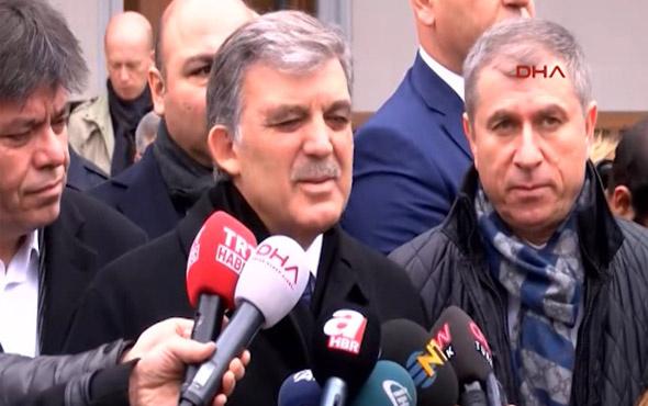 Abdullah Gül'den Erdoğan'a KHK yanıtı!