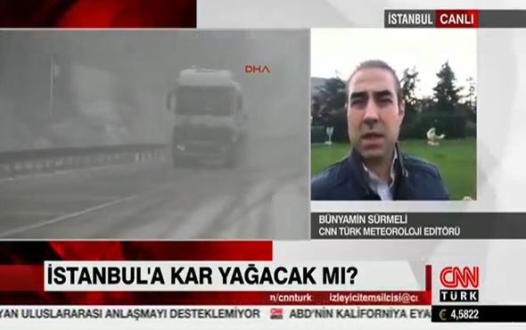 İstanbul'a kar ne zaman yağacak Bünyamin Sürmeli'den korkutan uyarı