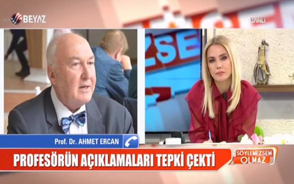 Prof. Ahmet Ercan insanları aşağıladığı sözleri savundu