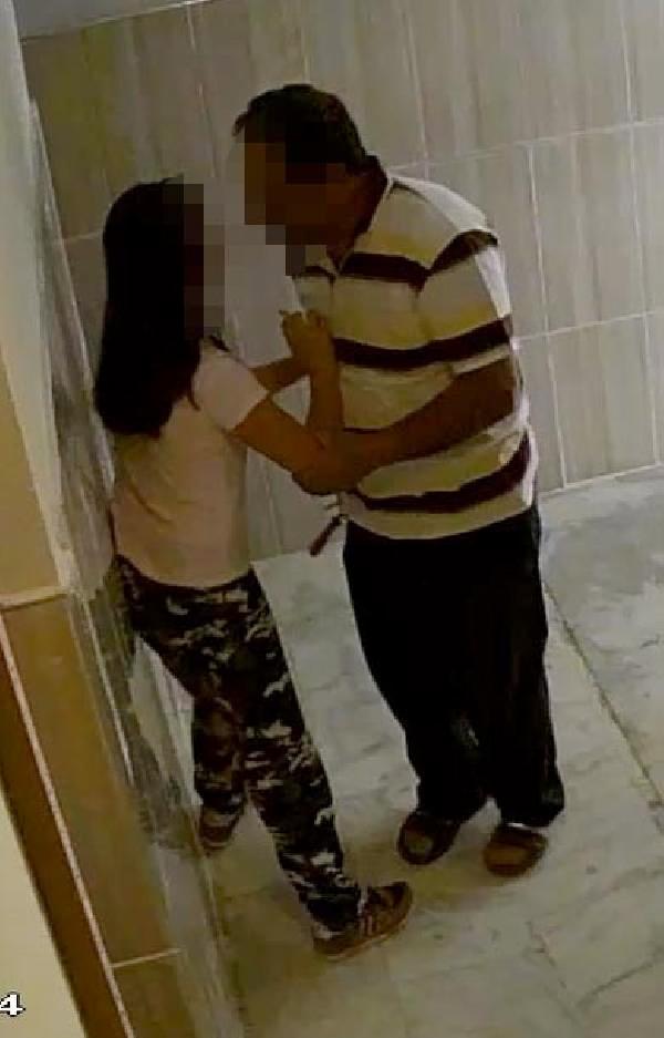 Apartmanda kamera kayıtlarını izleyen anne gözlerine inanamadı