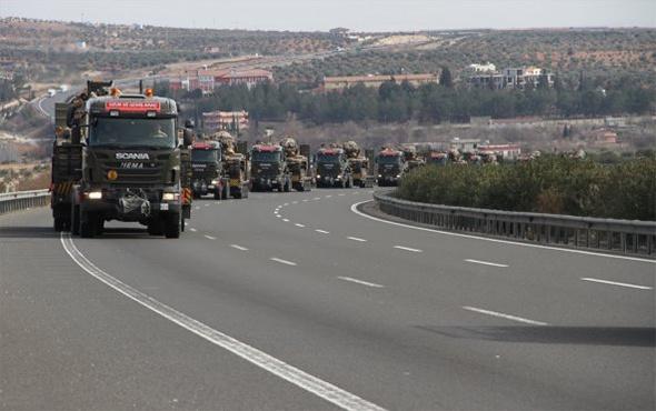 Askeri birlikler Suriye sınırına ulaştı!