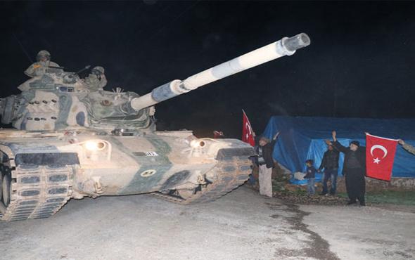 Mehmetçik Afrin'e böyle uğurlandı