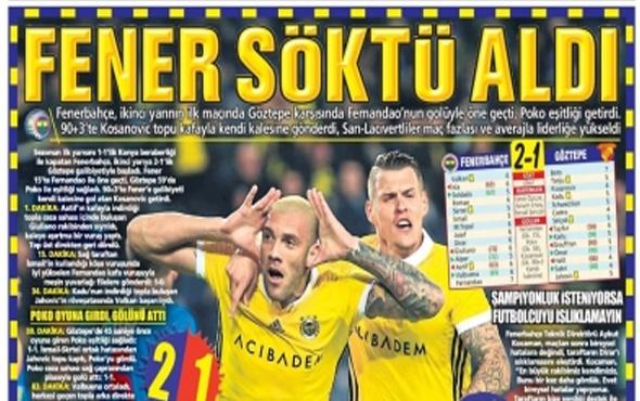 Günün spor gazete manşetleri! 21 Ocak 2018