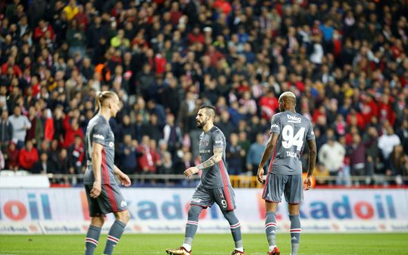 Antalyaspor Beşiktaş maçı fotoğrafları