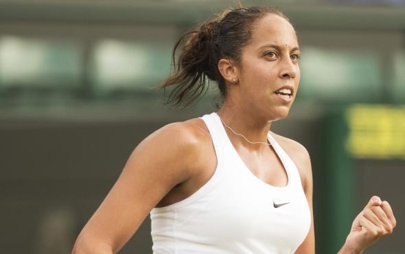 Avustralya'da Madison Keys çeyrek finalde