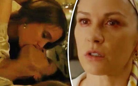 Catherine Zeta Jones, yeni filminde çok cesur