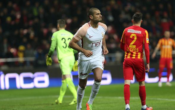 Kayserispor - Galatasaray maçı fotoğrafları
