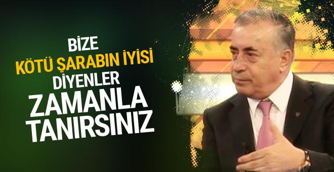 Mustafa Cengiz o benzetmeye öyle bir cevap verdi ki