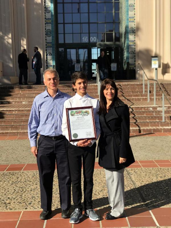 ABD, 13 yaşındaki Türk'ü konuşuyor! Adına gün ilan edildi
