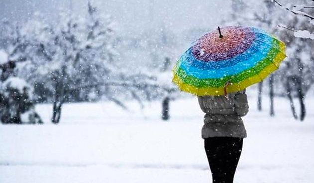 Son hava durumu uyarısı İstanbul ve çevresi için kar yağışı...