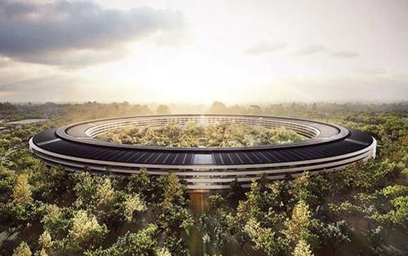 Apple Park'ı ilk defa bu kadar yakından göreceksin