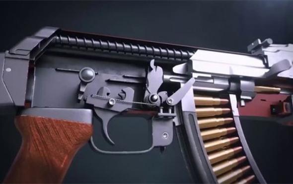 AK-47 (Kalaşnikof) nasıl çalışır?