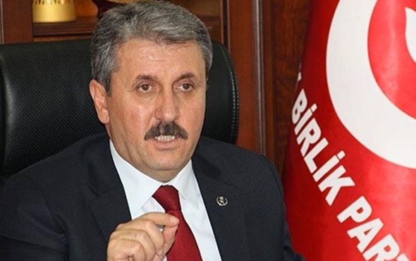 BBP lideri Destici'den 'idam cezası' önerisi