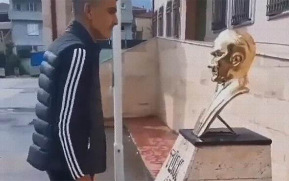 Atatürk'e hakaret eden video paylaştı: Vatandaşlar isyan etti!
