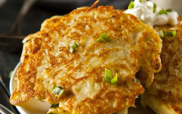 Patatesli mücver nasıl yapılır?