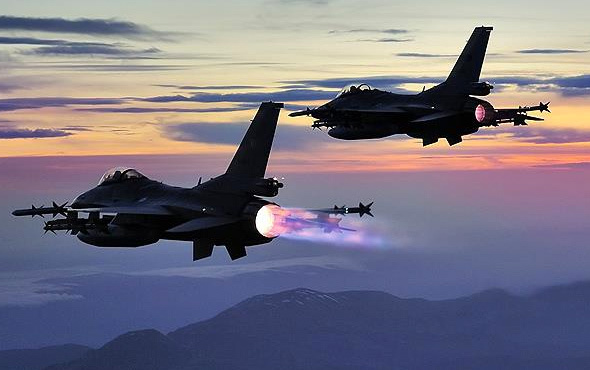 Kuzey Irak'a hava harekatı: Öldürüldüler!