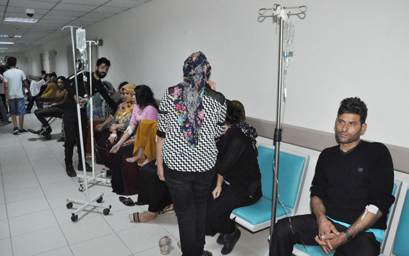 Adana'da yemekten zehirlenen onlarca işçi hastanelere kaldırıldı!