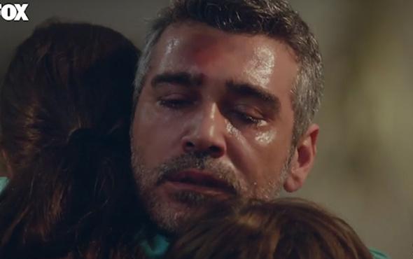 Kadın dizisinde Sarp'ın çocuklarıyla ağlatan kavuşma sahnesi!