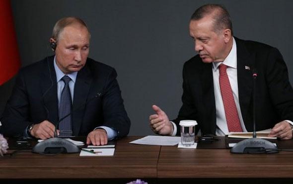 Erdoğan ve Putin zirve sonrası tekrar görüştü