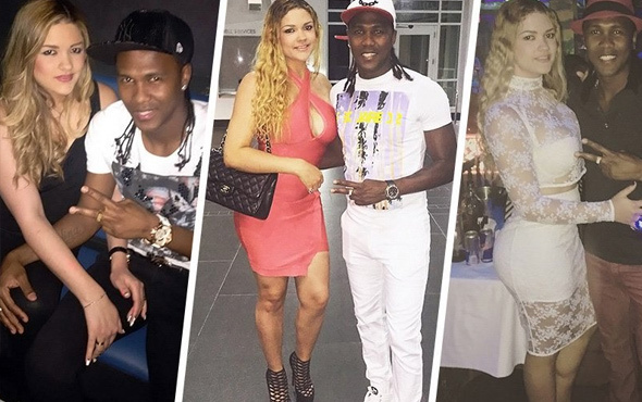 Trabzonsporlu Hugo Rodallega'dan evlilik bitirecek hata!