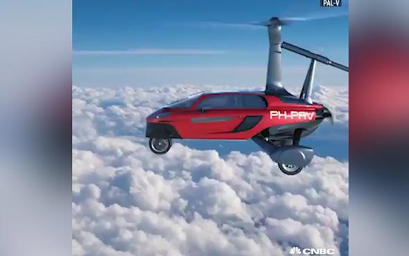 Uçan araba nihayet satışta, işte fiyatı