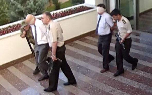 Darbeciler TEM Daire Başkanı Turgut Aslan'ı infaza böyle götürmüş...