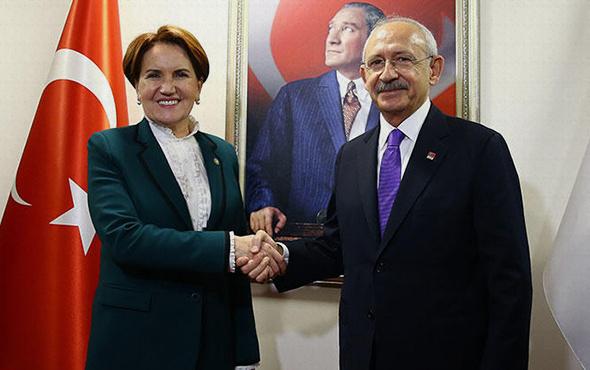 Kılıçdaroğlu Akşener görüşmesi sona erdi! Ortak mutabakat...