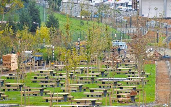 TOKİ Kayaşehir Millet Bahçesi cumartesi açılacak