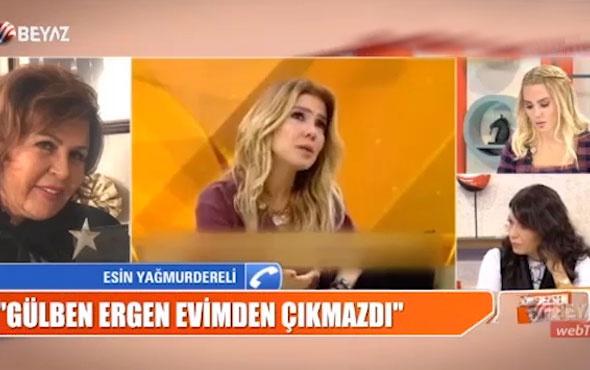 Esin Yağmurdereli Gülben Ergen'e canlı yayında ateş püskürdü