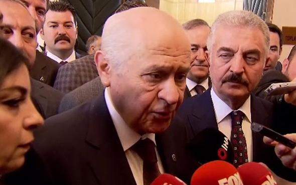 Cumhurbaşkanı Erdoğan ile Devlet Bahçeli buluşuyor Bahçeli ne dedi?