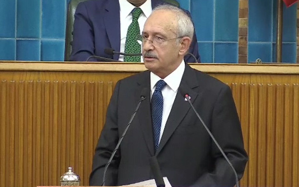 Cumhuriyet Halk Partisi Genel Başkanı Kemal Kılıçdaroğlu konuştu