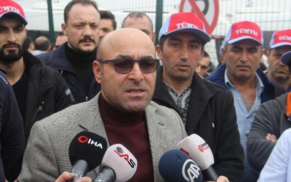 Tofaş'ta işten çıkarılan işçiler eylem yaptı