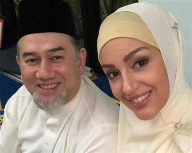 Malezya Kralı Rus güzellik kraliçesiyle Moskova'da evlendi