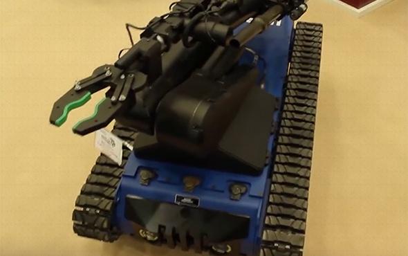 Türk polisine Aselsan'dan 'Ertuğrul' robotu