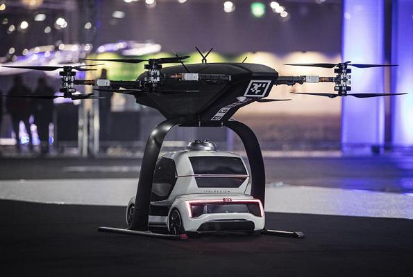 Audi geleceğin Drone arabasını tanıttı