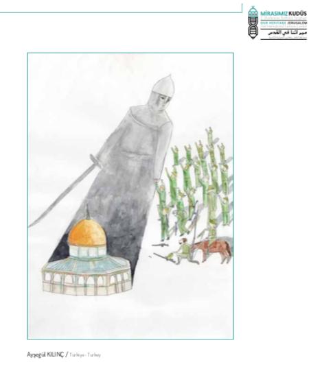 ´2. Uluslararası Mirasımız Kudüs Karikatür Yarışması´nın kazananları belli oldu