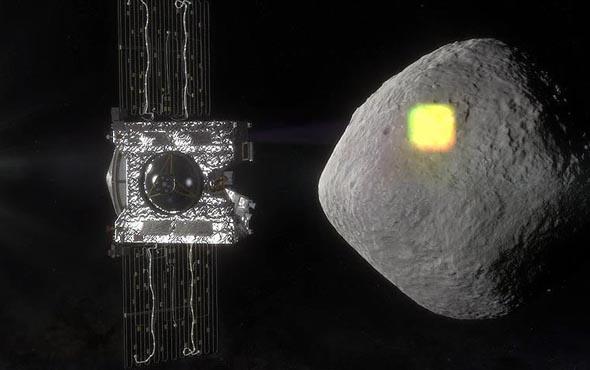 NASA uzay aracı gök taşında su kalıntıları buldu