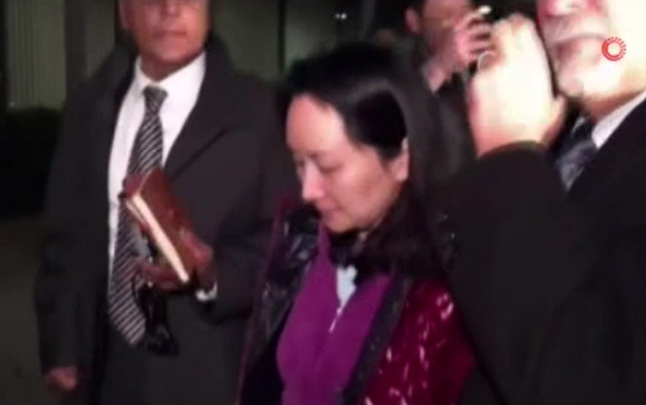 Huawei Mali İşler Başkanı Meng Wanzhou, kefaretle serbest bırakıldı