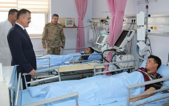 Hakkari'de yıldırım düştü! 6 asker yaralı