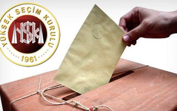 YSK yerel seçim takvimini açıkladı 1 Ocak'ta resmen başlıyor